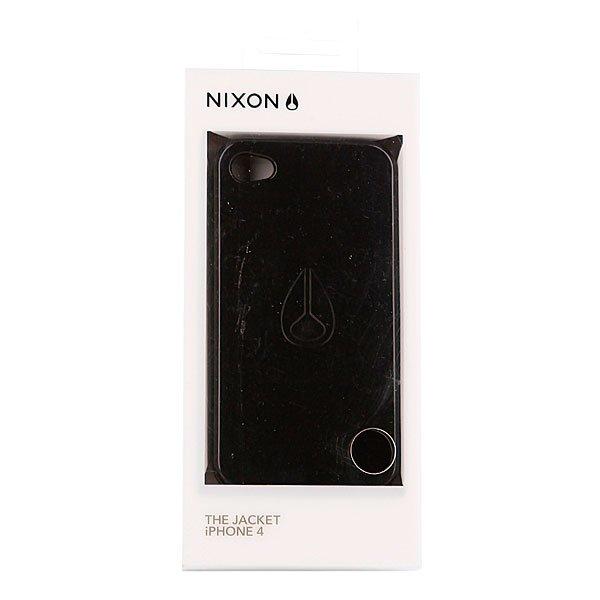 Чехол для iPhone Nixon Jacket Iph Case 4 P3 Black Proskater.ru 1250.000