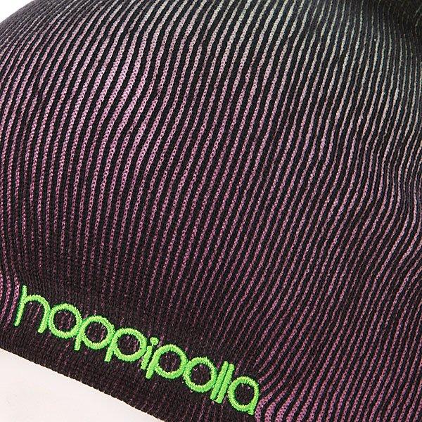 фото Шапка-носок мужская Hoppipolla Eiki Helgason Green/ Pink - картинка [2]