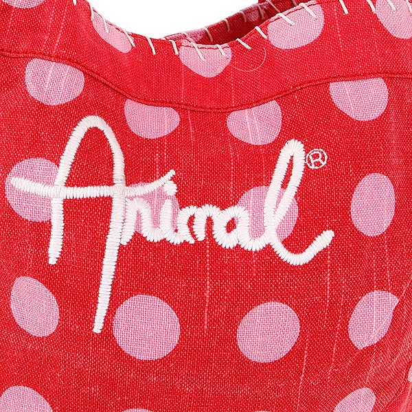 фото Сумка женская Animal Breakingcurl Tote Pink/Red - картинка [2]