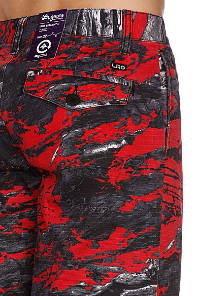 Классические мужские шорты LRG Woodchip Ts Short Black Proskater.ru 3800.000