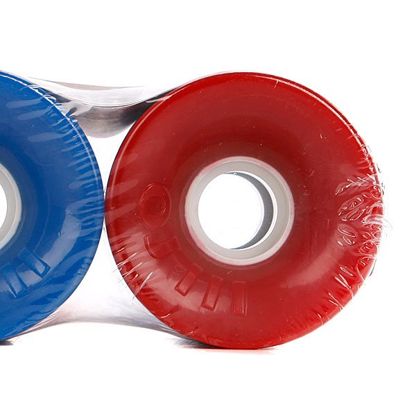 Колеса для скейтборда Oj Iii Hot Juice Red And Blue Combo Pack 78A 60 mm Proskater.ru 1680.000