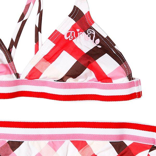 Купальник детский Animal Thundrcats Bikini White/Red Proskater.ru 1439.000