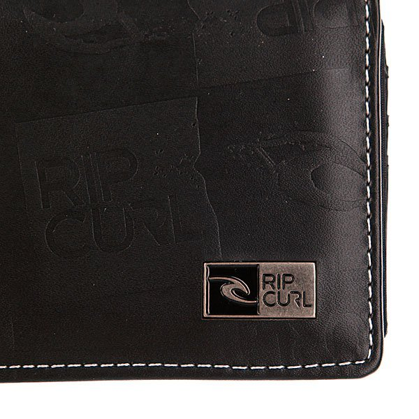 Кошелек Rip Curl Slim 4 Black/White Proskater.ru 679.000