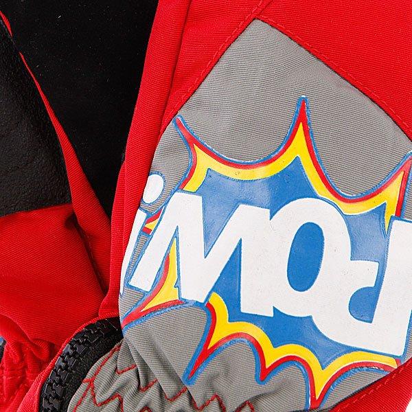 Варежки сноубордические детские Pow Grom Mitt Red Proskater.ru 1190.000