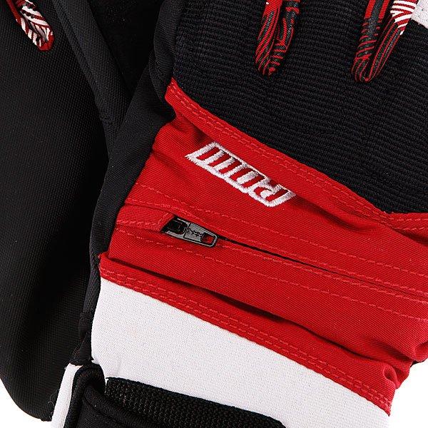 Перчатки сноубордические женские Pow Sniper Glove Red Proskater.ru 2790.000