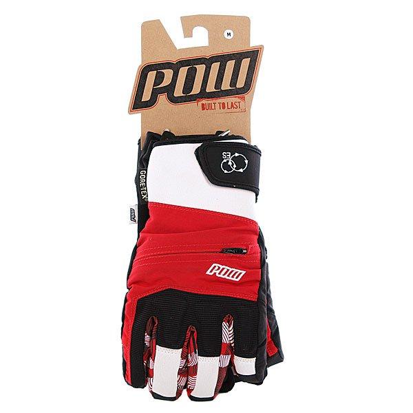 Перчатки сноубордические Pow Sniper Glove Gtx Red Proskater.ru 1199.000