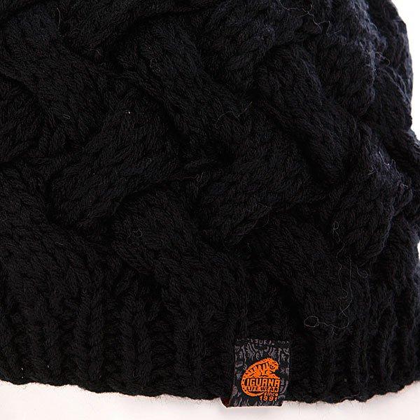 Шапка с помпоном женская Iguana Imvc21 Cap Black Proskater.ru 880.000
