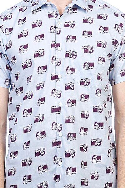 Рубашка TukTuk Camera Print Shirt Multi Proskater.ru 4200.000