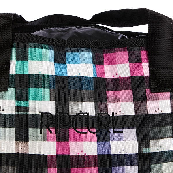 фото Сумка женская Rip Curl Check Shoulder Bag Solid Black - картинка [2]
