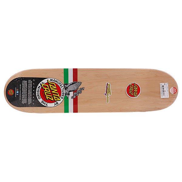 Дека для скейтборда для скейтборда Santa Cruz Su3 Jessee Mexican Flag Powerply 32.2 x 8.5 (21.6 см) Proskater.ru 3240.000