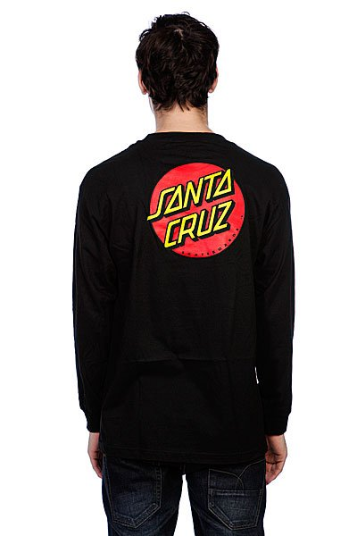 Лонгслив Santa Cruz Classic Dot Black Proskater.ru 1500.000