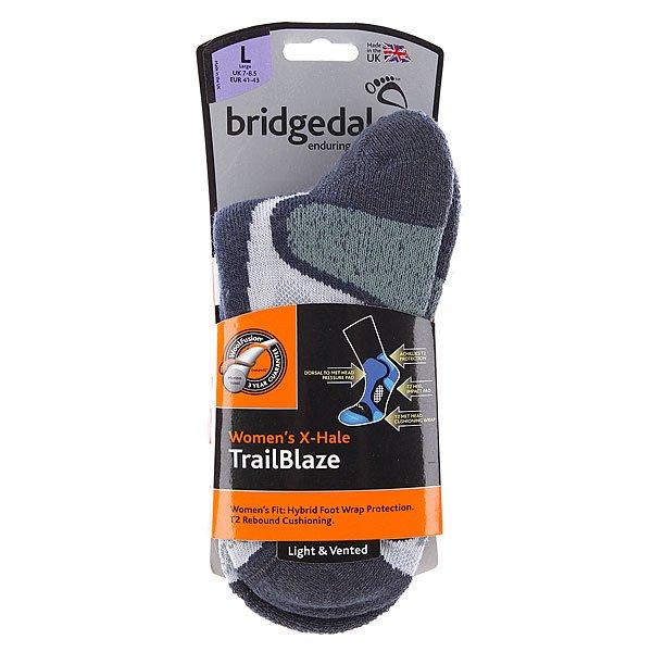 Носки средние женские Bridgedale X Hale Trails Blaze Grey/Jade Proskater.ru 990.000