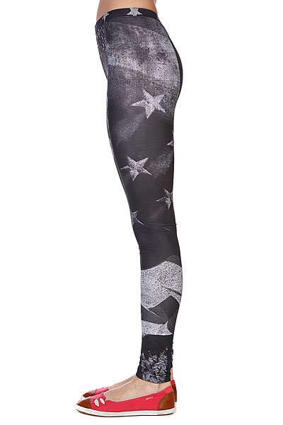 Леггинсы женские Your Eyes Lie Leggings Digital White Proskater.ru 1429.000