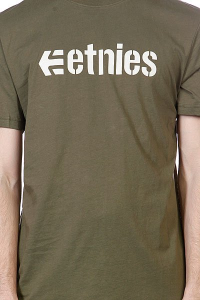 Футболка Etnies Corporate 13 S/S Tee Army Proskater.ru 1380.000