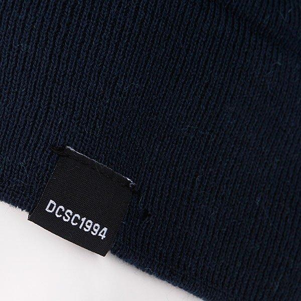 фото Шапка мужская с помпоном DC Chester 14 Dress Blue - картинка [2]