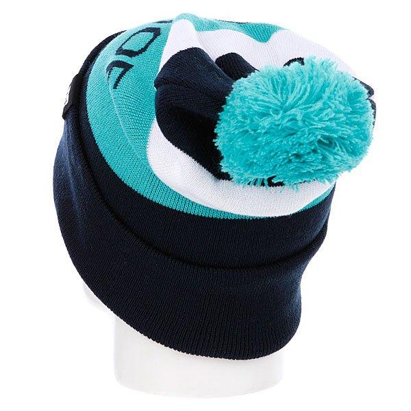 фото Шапка мужская с помпоном DC Chester 14 Dress Blue - картинка [4]