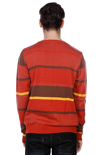 Свитер Afends Firestarter Brick Striped Wrown Proskater.ru 3040.000