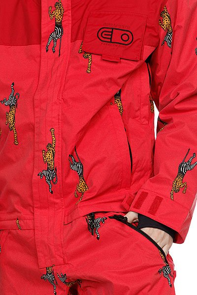 Комбинезон Airblaster Freedom Suit Red Cheebrah Proskater.ru 14340.000