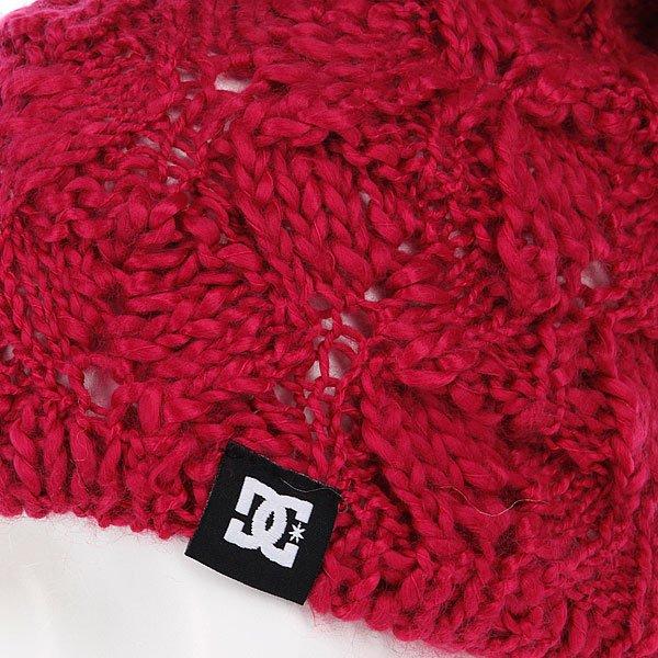 фото Шапка мужская с помпоном DC Tayce 14 Bright Rose - картинка [2]