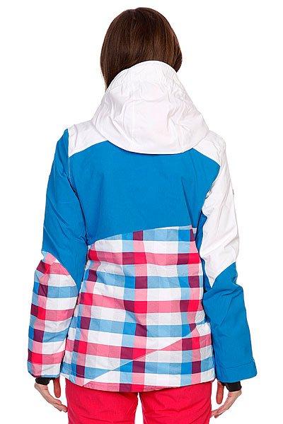Куртка женская Roxy Russia Polar Cap Jk Shop Aster Blue Proskater.ru 7549.000