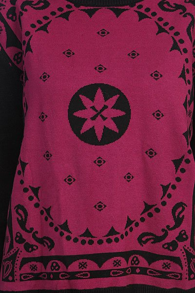 Свитер женский Insight Mystic Bandanna Jaquard Knit Floyd Black Proskater.ru 3489.000