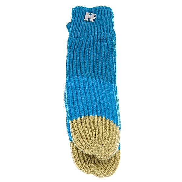 Варежки женские Harrison Beatrice Gloves Blue/Turq/Lime Proskater.ru 450.000