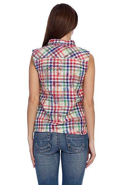 Рубашка в клетку женская Iguana Ingn Blue Combo Proskater.ru 1620.000