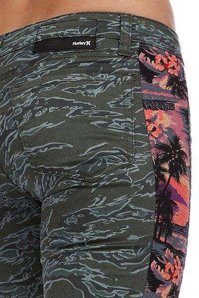 Штаны женские Hurley Camaro Skinny Tux Legging Msg Tropics Proskater.ru 3920.000