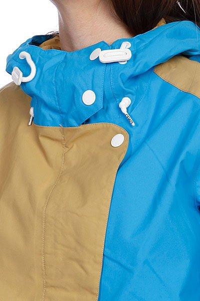 Куртка женская Colour Wear Poise Jacket Sky Blue Proskater.ru 9680.000