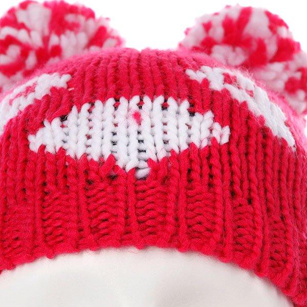 Шапка с помпоном детская Roxy Little Panda Pink Proskater.ru 439.000