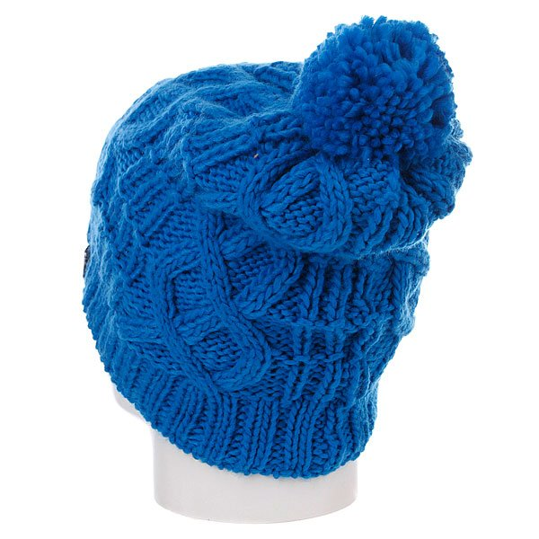 Шапка с помпоном детская Quiksilver Planter Youth Beanie Fun Blue Proskater.ru 489.000