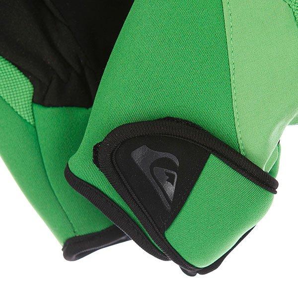 Перчатки сноубордические детские Quiksilver Tips Youth Gloves Green Proskater.ru 1109.000