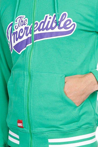 Толстовка Addict Hulk Zip Hoody Green Proskater.ru 4510.000