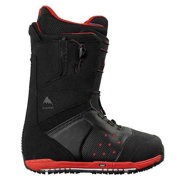 Ботинки для сноуборда Burton Ion Black/Red Proskater.ru 14759.000