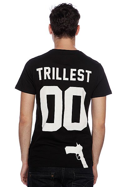 Футболка Criminal Damage Trillest Tee Black Proskater.ru 2050.000