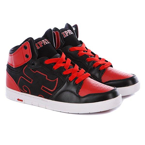Кеды кроссовки высокие Ipath Iconic Xl Black/Red Proskater.ru 3159.000
