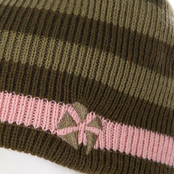 Шапка женская Animal Dipper Reversibe Stripe Beanie Proskater.ru 629.000