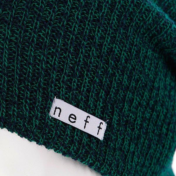 Шапка носок Neff Daily Heather Green/Navy Proskater.ru 1000.000