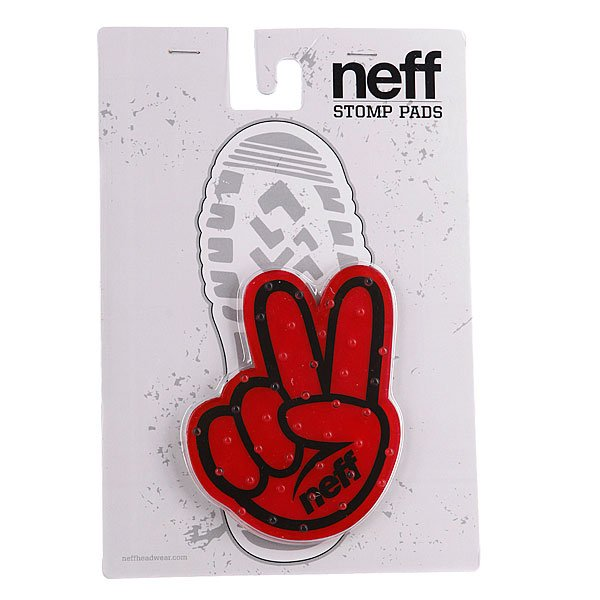 Наклейка на сноуборд Neff Peace Red Proskater.ru 660.000