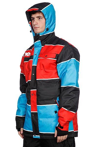 Куртка Neff Winston Puffy Blue/Red Proskater.ru 10889.000