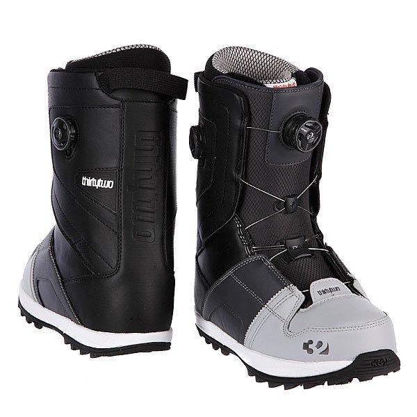 Ботинки для сноуборда Thirty Two Binary Boa Grey/Black Proskater.ru 15730.000