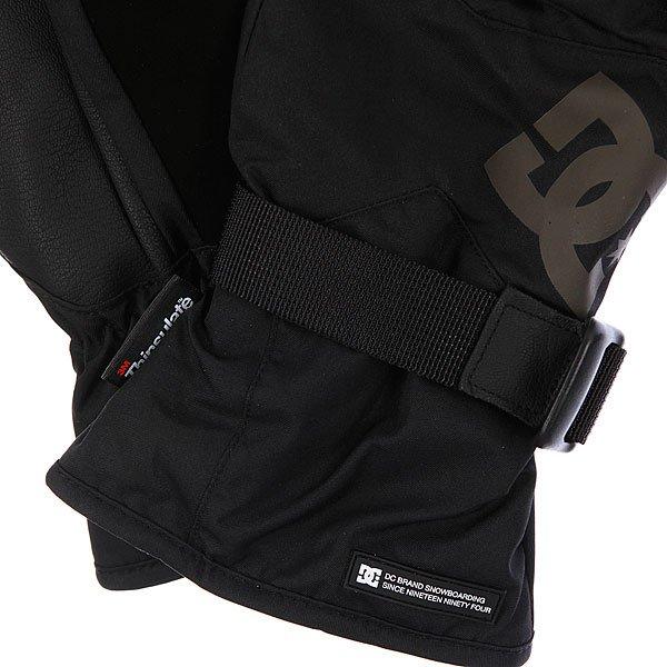 Перчатки сноубордические DC Seger Over Black Proskater.ru 2150.000