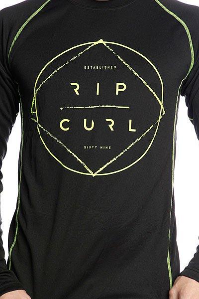Термобелье (верх) Rip Curl Flash/Gum Base Layer Top Black Proskater.ru 1359.000