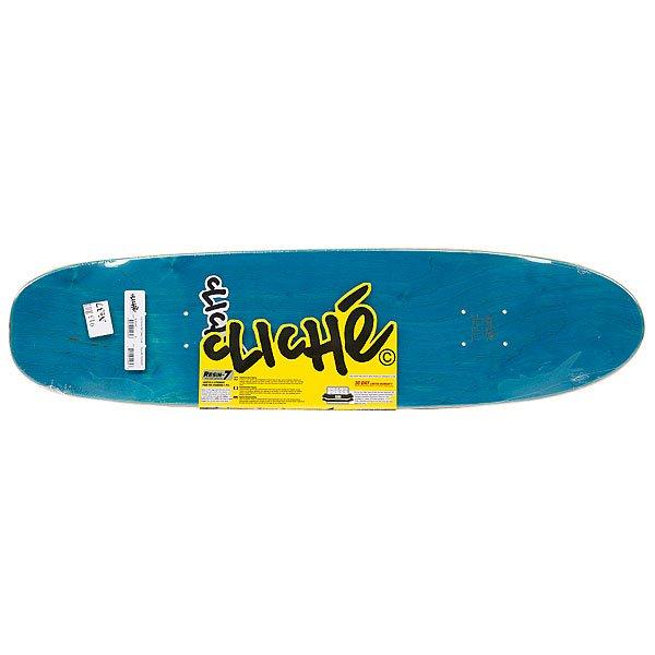 Дека для скейтборда Cliche Handwritten Classic Cruiser Pp Black 31(78.8 см) Proskater.ru 3050.000