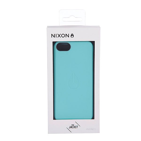 Чехол для Iphone Nixon Jacket Iphone 5 Case Light Blue Proskater.ru 1250.000