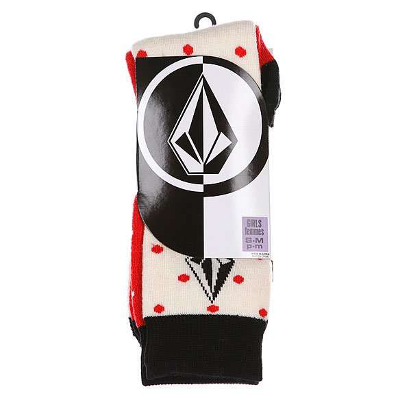 Носки женские Volcom Tootsie Tech Sock White Proskater.ru 939.000