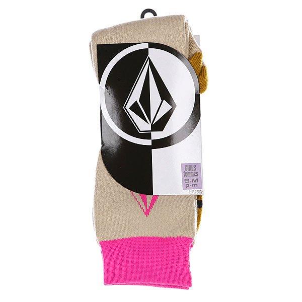 Носки женские Volcom Flipflop Tech Sock Pink Proskater.ru 939.000