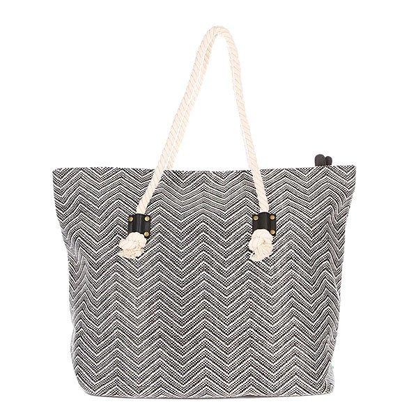фото Сумка женская Rip Curl Haleiwa Beach Bag Solid Black - картинка [3]