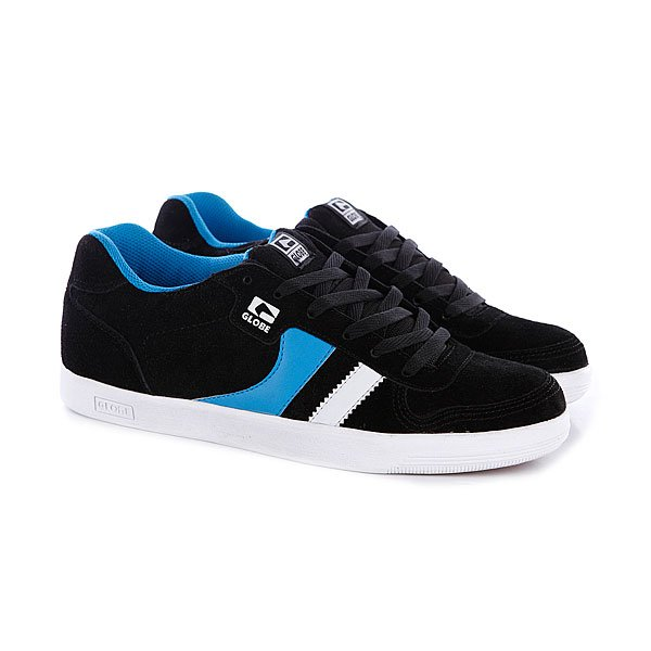 Кеды кроссовки Globe Encore Generation Black/Blue Proskater.ru 4240.000