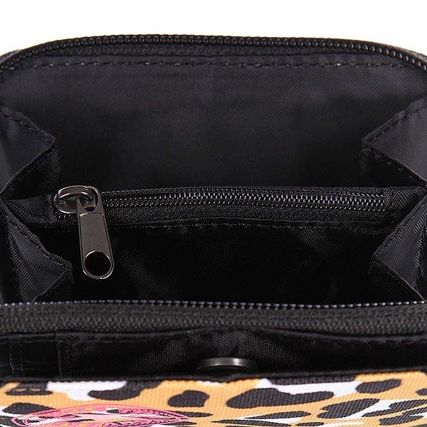Кошелек женский Converse Wallet Pb Leopard Orange/Black Proskater.ru 1200.000
